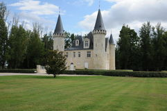Castle of Agassac in Gironde Stock Image