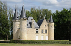 Castle of Agassac in Gironde Royalty Free Stock Photography