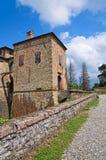 Castle Agazzano. Αιμιλία-Ρωμανία. Ιταλία. στοκ φωτογραφία με δικαίωμα ελεύθερης χρήσης