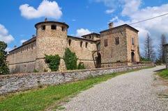 Castle Agazzano. Αιμιλία-Ρωμανία. Ιταλία. στοκ εικόνες