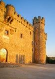 Castle at Aguijuelas, Caceres, Estremadura, Spain Stock Images