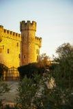Castle at Aguijuelas, Caceres, Estremadura, Spain Stock Photos