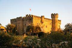 Castle at Aguijuelas, Caceres, Estremadura, Spain Royalty Free Stock Photos