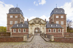 Castle Ahaus, front view Stock Images