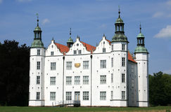 Castle Ahrensburg. The white castle in Ahrensburg near hamburg, germany Stock Photography