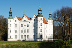 Castle of Ahrensburg Stock Images