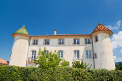 Castle in Aiguines Stock Images