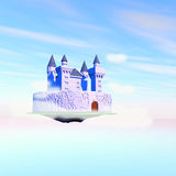 Castle in the air Royalty Free Stock Photos