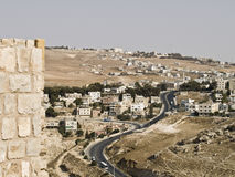 Castle Al Kerak in Jordan Royalty Free Stock Images