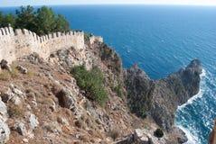 Castle of Alanya Royalty Free Stock Photos