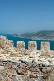 Castle of Alanya Stock Images