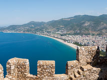 Castle of Alanya Royalty Free Stock Photo
