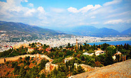 Castle of Alanya Royalty Free Stock Images