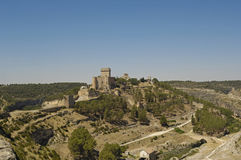 Castle of Alarcon, Cuenca, Castilla La Mancha, Spain Stock Photography