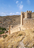 Castle of Albarracin Stock Photos