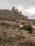 Castle of Albarracin Stock Images