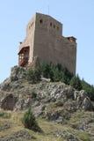 Castle, Alcala de la Selva village, Teruel,Spain Stock Images