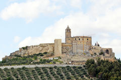 Castle of Alcala la Real Royalty Free Stock Image