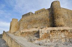 Castle of Alcaudete, Jaen (Spain) Royalty Free Stock Photography