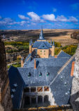 The castle Alcazar, Segovia, Spain Stock Image