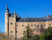 Castle Alcazar Stock Photography