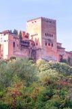 Castle Alhambra Στοκ φωτογραφία με δικαίωμα ελεύθερης χρήσης