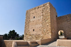 Castle of Alicante (Spain) Royalty Free Stock Photography