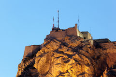 Castle in Alicante, Spain Stock Photography