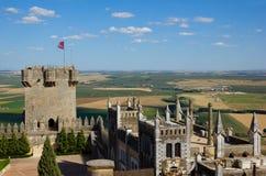 Castle Almodovar del Rio, Cordoba, Spain Stock Image