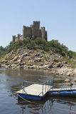 Castle of Almourol Royalty Free Stock Image