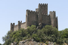 Castle of Almourol Royalty Free Stock Photography