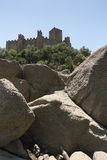 Castle of Almourol Stock Image