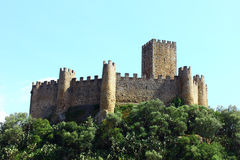 Castle of Almourol, Portugal Stock Photo