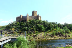 Castle of Almourol, Portugal Royalty Free Stock Photo