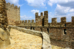 Castle of Almourol at Portugal Royalty Free Stock Image