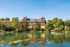 Castle along the Po river. A castle along the Po river in Turin, Italy Stock Photo