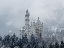 Castle in the Alphas Royalty Free Stock Photo