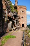 Castle Altdahn Stock Photos