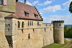 Castle Altenburg in Bamberg, Germany Royalty Free Stock Images