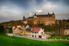 Castle Altenburg Germany. Old Castle in Altenburg Germany Stock Photo