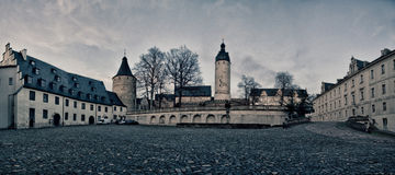 Castle Altenburg Germany. Old Castle in Altenburg Germany Royalty Free Stock Photo
