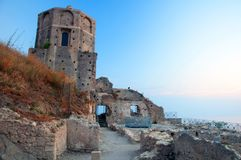 Castle of Amantea Royalty Free Stock Images