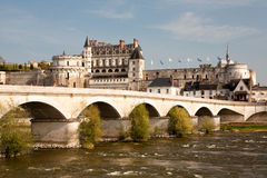 Castle of Amboise Stock Photography