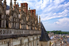 Castle of Amboise Stock Images