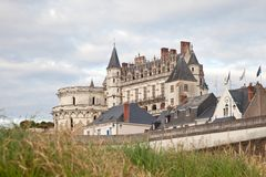 Castle Amboise France Royalty Free Stock Photography