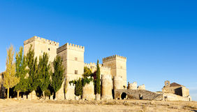 Castle of Ampudia Stock Image