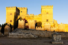 Castle of Ampudia Stock Photography