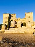 Castle of Ampudia Royalty Free Stock Images