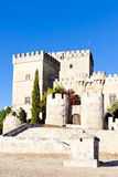Castle of Ampudia Stock Images