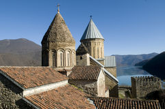 Castle Ananuri in Georgia Stock Photos